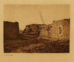 volume 17 facing: page  72 A kiva at Nambe - photogravure plate