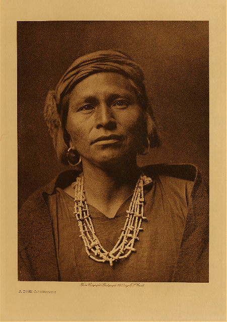 volume 17  facing: page  124 A Zuñi governor