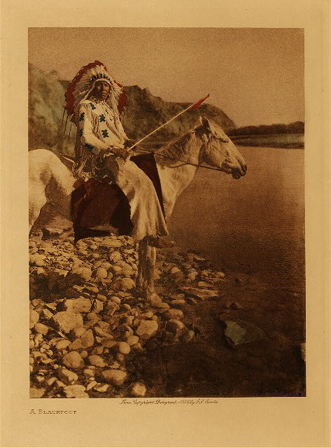 volume 18 Frontispiece A Blackfoot