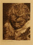 "volume 18 facing: page  26 Makoyepuk - ""Wolf-child"" - Blood - photogravure plate"