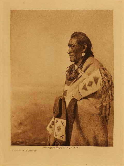 volume 18  facing: page  38 A typical Blackfoot