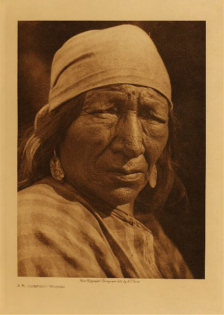 volume 18  facing: page  44 A Blackfoot woman
