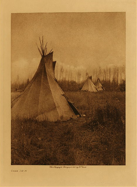 volume 18  facing: page  60 Cree tipis