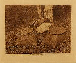volume 18 facing: page  70 Birchbark baskets - Cree - photogravure plate