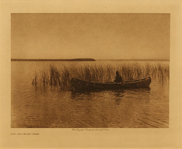 volume 18  facing: page  74 Lac les Isles - Cree