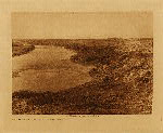 volume 18 facing: page  112 Bow River and the sandhills - Blackfoot - photogravure plate
