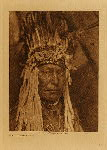 volume 18 facing: page  148 A Piegan war-bonnet - photogravure plate