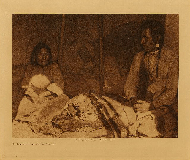 volume 18  facing: page  184 A beaver-bundle - Blackfoot