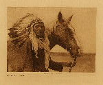volume 18 facing: page  194 Blackfoot war-bonnet - photogravure plate