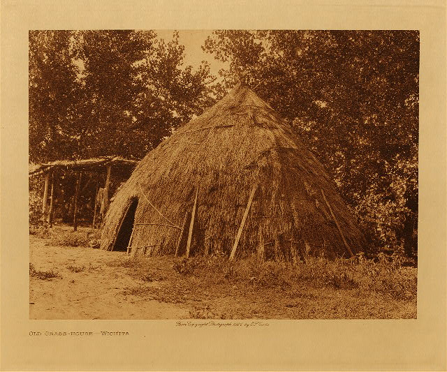 volume 19  facing: page  40 Old grass-house - Wichita