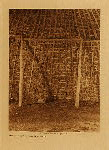 volume 19 facing: page  42 Interior of Wichita grass-house - photogravure plate