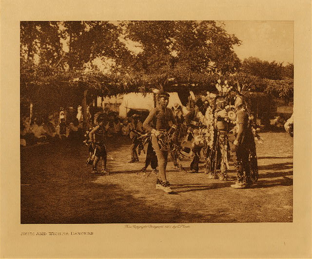 volume 19  facing: page  70 Skidi and Wichita dancers