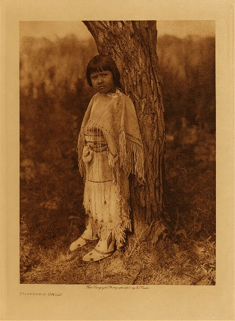 volume 19  facing: page  78 Cheyenne child