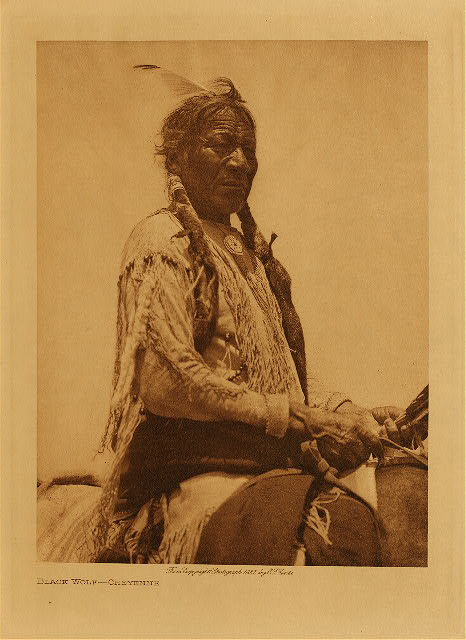 volume 19  facing: page  88 Black Wolf - Cheyenne