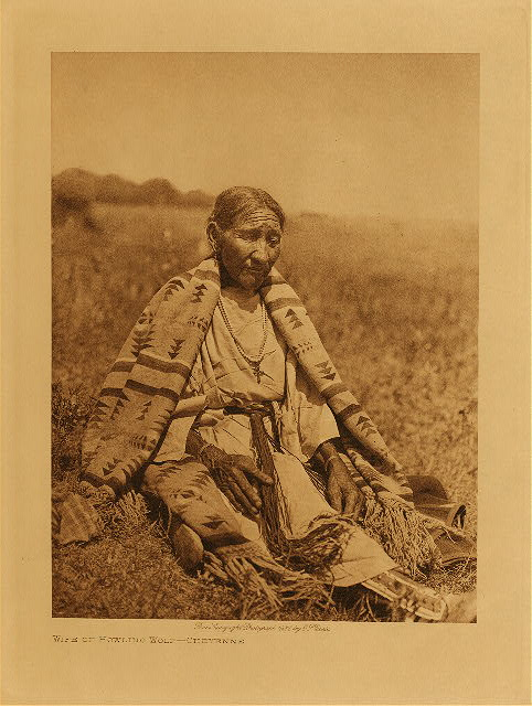 volume 19  facing: page  90 Wife of Howling Wolf - Cheyenne