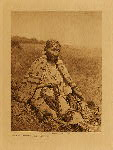 volume 19 facing: page  90 Wife of Howling Wolf - Cheyenne - photogravure plate