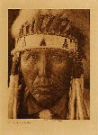 volume 19 facing: page  92 Red Bird - Cheyenne - photogravure plate