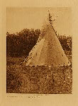 volume 19 facing: page  116 Preparatory lodge, Cheyenne sun dance - photogravure plate