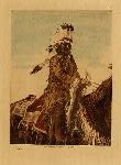 volume 19 facing: page  144 An Arapaho - photogravure plate