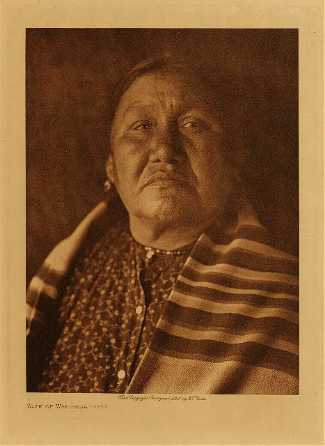 volume 19  facing: page  158 Wife of Wakonda - Oto