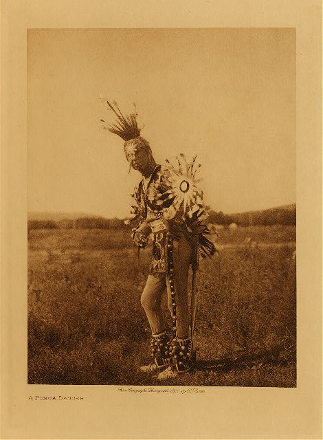 volume 19  facing: page  170 A Ponca dancer