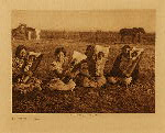 volume 19 facing: page  186 Comanche mothers - photogravure plate
