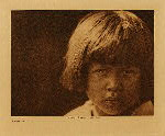 volume 19 facing: page  194 A Comanche girl - photogravure plate