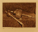 volume 19 facing: page  208 Altar peyote with rattle - Osage - photogravure plate