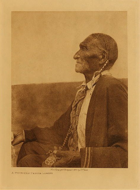 volume 19  facing: page  210 A Cheyenne peyote leader