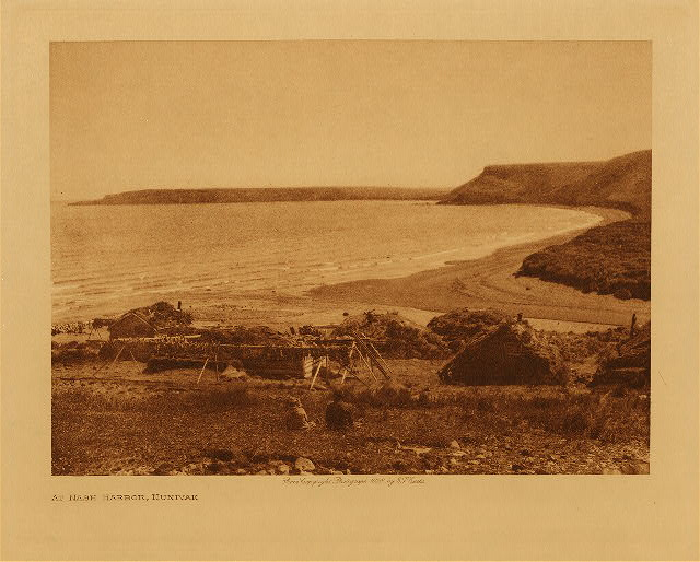 volume 20  facing: page  16 At Nash Harbor, Nunivak