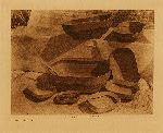 volume 20 facing: page  74 Dishes, Nunivak - photogravure plate