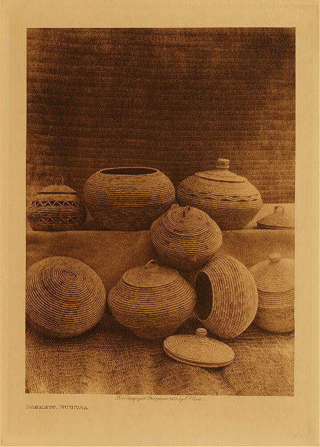 volume 20  facing: page  78 Baskets, Nunivak