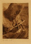 volume 20 facing: page  110 Drilling ivory, King Island - photogravure plate