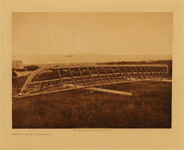 volume 20  facing: page  182 Umiak frame, Kotzebue