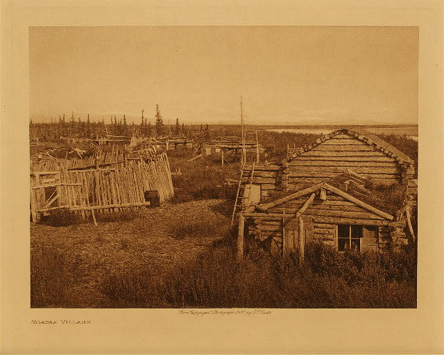 volume 20  facing: page  194 Noatak village