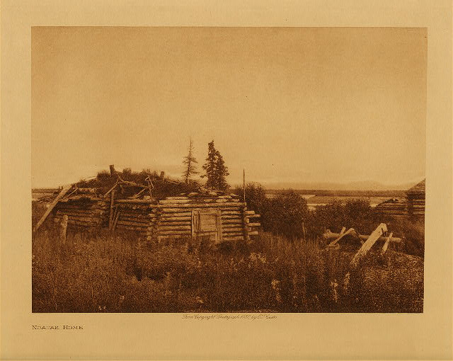 volume 20  facing: page  196 Noatak home
