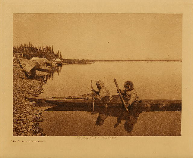 volume 20  facing: page  198 At Noatak village
