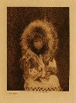 volume 20 facing: page  204 Noatak child - photogravure plate