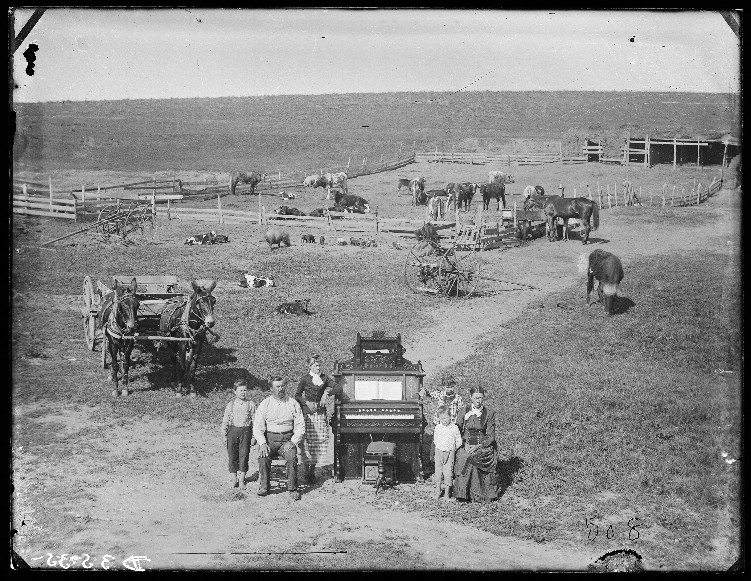 People in the Great Plains in 1800s