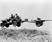 Image: Bantam car in air