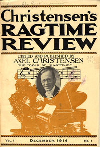 Image: Christensen's Ragtime Review