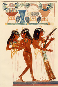 Image: Music and Dancing (18th dynasty)