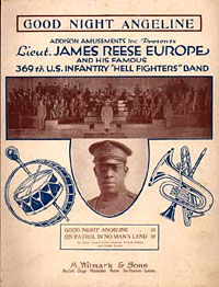 Cover of James Reese Europe music