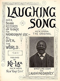 Image: Cover of The laughing song