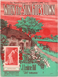 Image: Cover of When the Sun Goes Down