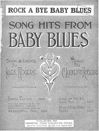 Image: Cover of Rock a bye baby blues
