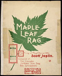 Image: Cover of Maple Leaf Rag