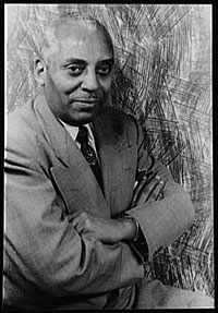 Image: Portrait of Noble Sissle by Carl Van Vechten