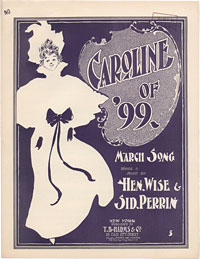 Image: Cover of Caroline of '99