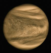 Image of the planet Venus
